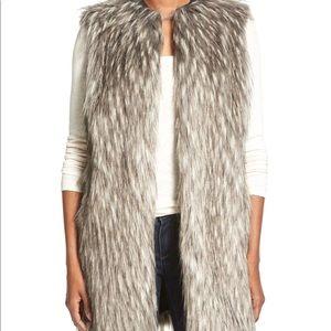 Faux fur vest by Matty M XS/S 0-6 NWOT